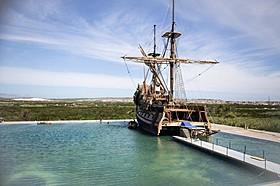 精巧に作られた海賊船は圧巻!「トランスフォーマー」