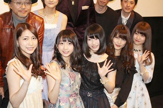 "「AKB48」入山杏奈、共演の松山優太に""目力""ほめられ照れ笑い"