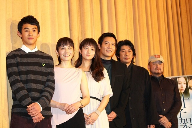 小出恵介&木村文乃、映画「十字架」の中学生役に悪戦苦闘