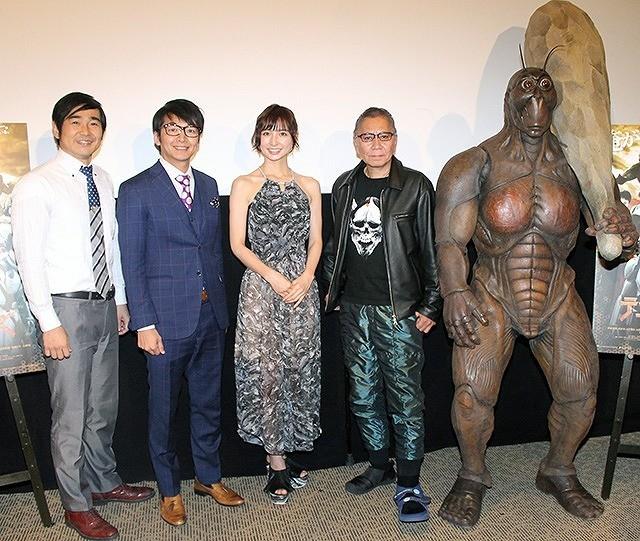 篠田麻里子、「テラフォーマーズ」三池崇史監督のベタ褒めに破顔「録音すれば良かった」