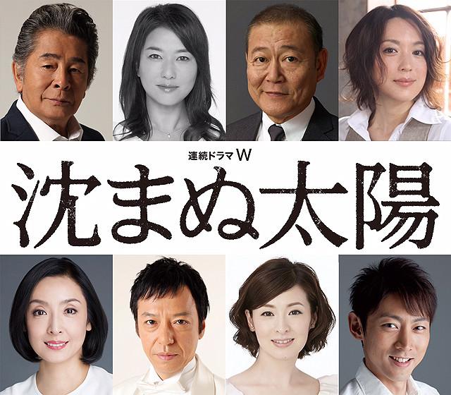 WOWOW連ドラ「沈まぬ太陽」恩地の妻に夏川結衣ほか豪華キャスト8人が出演