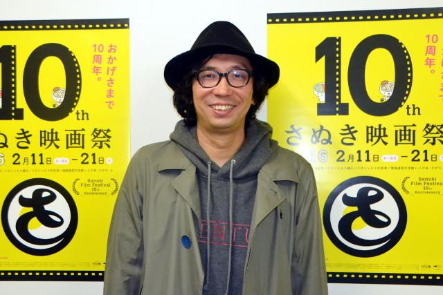 さぬき映画祭に参加した行定勲監督