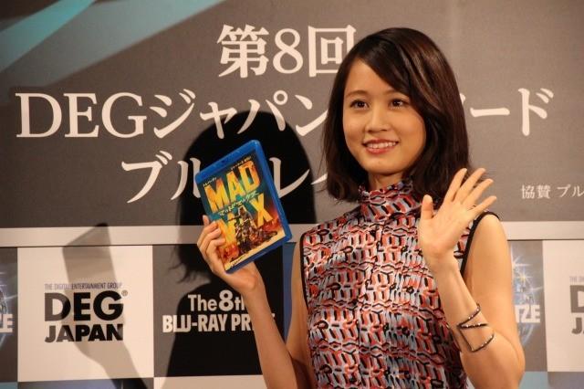 「第8回ブルーレイ大賞」グランプリはアンバサダー前田敦子も納得の「マッドマックス」!