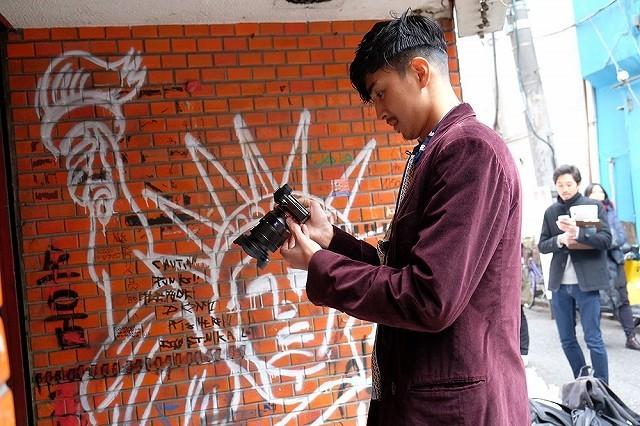 松田翔太、主演作「ディアスポリス」超特報を撮影していた!メイキング映像が公開