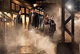 「ファンタスティック・ビーストと 魔法使いの旅」では4人組が大冒険「ファンタスティック・ビーストと魔法使いの旅」