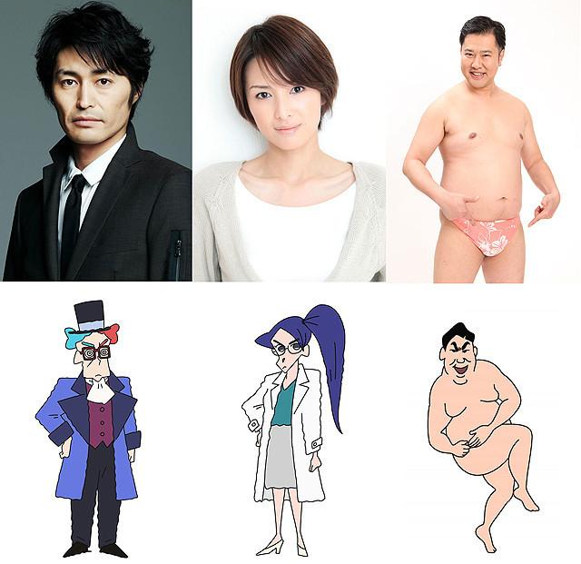 映画「クレしん」最新作に安田顕、吉瀬美智子、とにかく明るい安村がゲスト出演