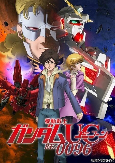 テレビアニメとして4月から放送される 「機動戦士ガンダムユニコーン RE:0096」