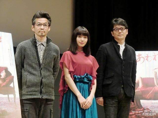 「蜜のあわれ」二階堂ふみの熱演に穂村弘氏「命がけでイチャイチャしている感じがすごく出ていた」