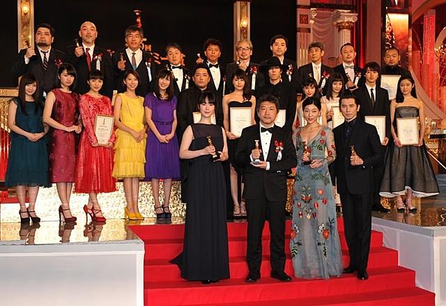 第39回日本アカデミー賞は「海街diary」が4冠!作品賞を制す