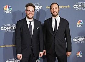 セス・ローゲン(左)&エバン・ゴールドバーグ「スーパーバッド 童貞ウォーズ」