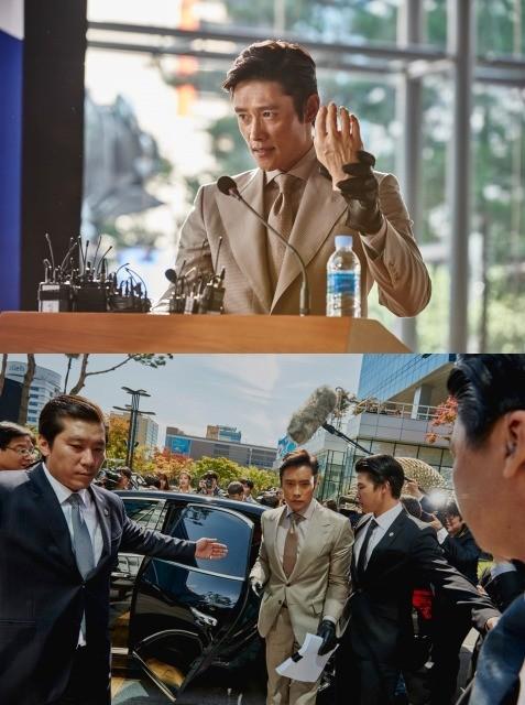 独占入手!韓国で観客動員900万人超の「インサイダーズ」、緊迫感あふれる冒頭映像