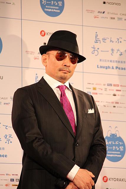 「クレイジーケンバンド」横山剣、沖縄国際映画祭に初参加!