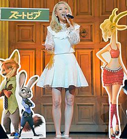 Dream Amiとして歌声を披露「ズートピア」