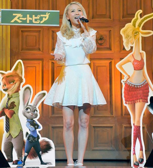 「E-girls」Ami、ディズニーアニメ主題歌初披露「いきなり夢かなった感じ」