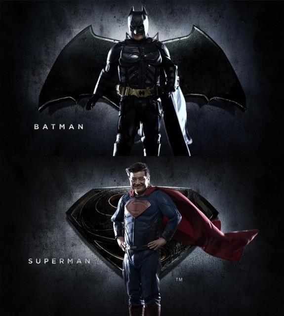 """森永卓郎、新たな""""結果にコミット""""!RIZAP特別CMでバットマン&スーパーマンに"""