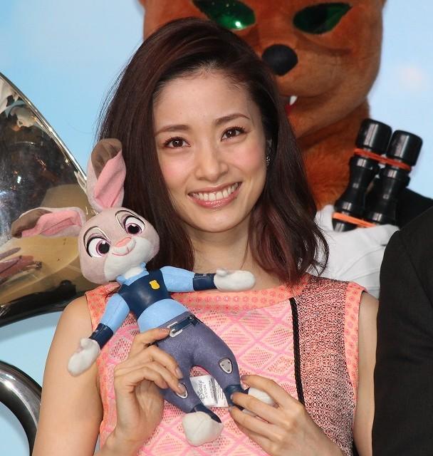 上戸彩、「ズートピア」声優は「家族に自慢できる」