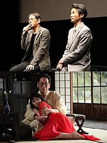 相思相愛の大杉漣と石井岳龍監督(写真上)「蜜のあわれ」