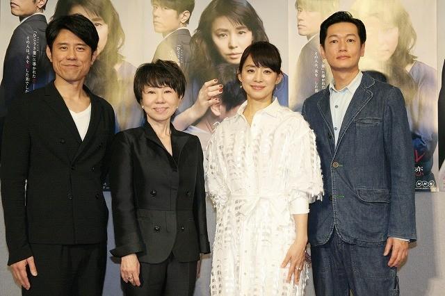 石田ゆり子、大石静脚本ドラマで井浦新と禁断の恋