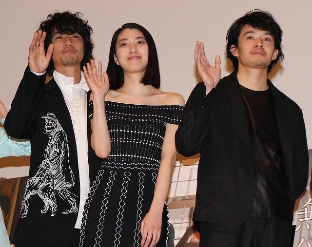 成海璃子、池松壮亮&斎藤工のラブシーンに赤面「見せつけられた感じ」