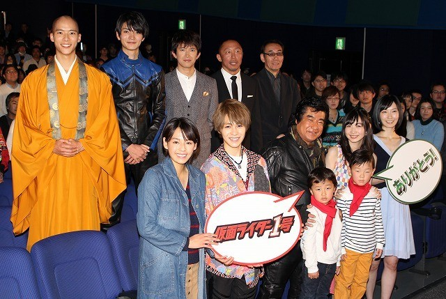 藤岡弘、45年越しの「仮面ライダー1号」公開に感慨無量「本当に感謝」