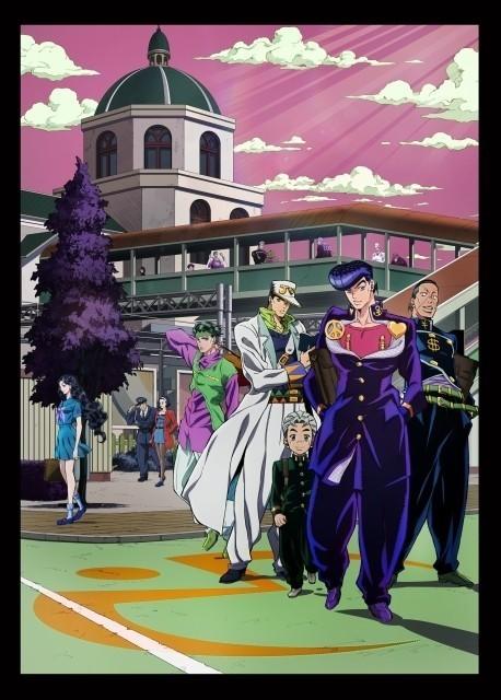 「ジョジョの奇妙な冒険」第4部、多数のキャラが潜む第2弾キービジュアル