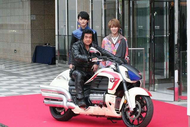 藤岡弘、万感「仮面ライダーとは45年に及ぶ大河ドラマ」