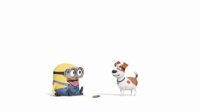 「ミニオンズ」新作短編アニメが「ペット」と同時上映!コラボ映像も公開