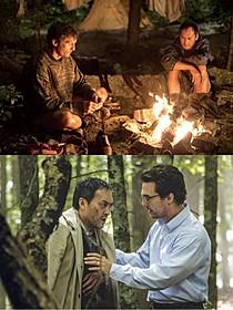 劇中同様、撮影も過酷だったという「追憶の森」