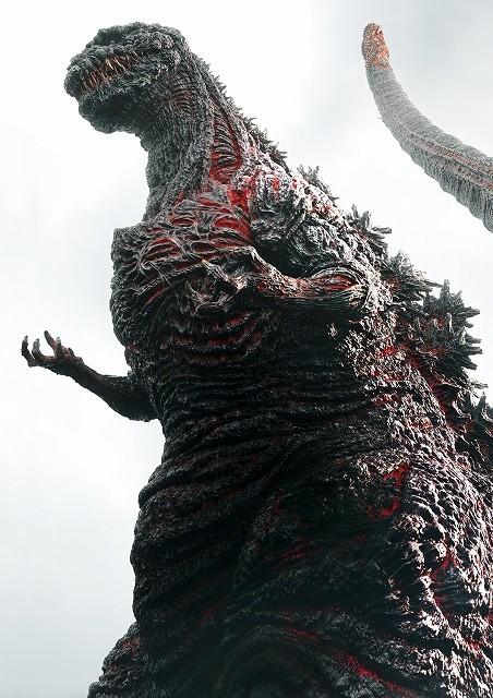 庵野秀明総監督「シン・ゴジラ」全身ビジュアル公開!フルCGゴジラが日本を蹂躙