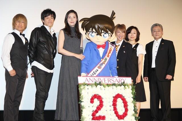 劇場版20周年を迎えたコナンを祝福!