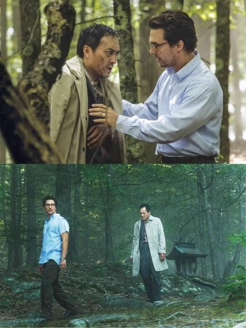 """樹海をさまようマシュー・マコノヒーと渡辺謙が出合った""""もの""""は?「追憶の森」本編映像公開"""