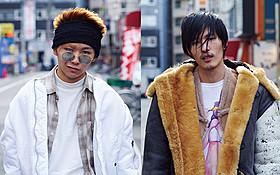 狂気の犯罪者を演じる須賀健太(左)とNOZOMU「ディアスポリス DIRTY YELLOW BOYS」
