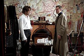 「シャーロック・ホームズ シャドウ ゲーム」の一場面「シャーロック・ホームズ」