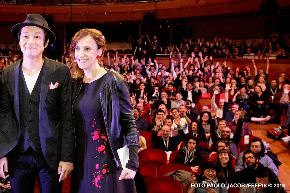 森田剛、伊ウディネの観客1200人から喝さい!初主演作「ヒメアノ~ル」がプレミア上映