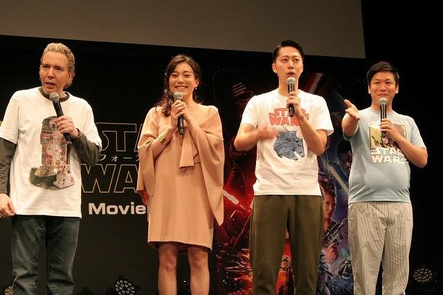 渋谷にスター・ウォーズファンが結集!「フォースの覚醒」MovieNEX発売イベント