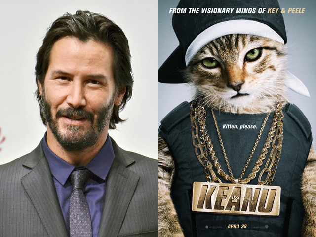 キアヌ・リーブス、全米で話題の猫映画「キアヌ」にカメオ出演