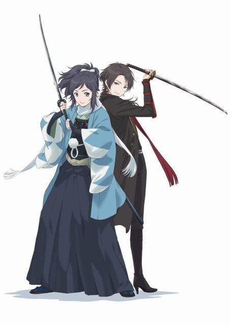 「刀剣乱舞-花丸-」沖田総司の愛剣を描くティザービジュアル公開