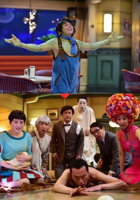 「HOT LIMIT」スーツの次は全身カエルメイク!?西川貴教、「ギャラクシー街道」歌唱シーンメイキング映像