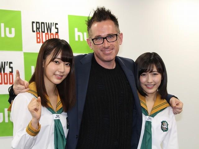 渡辺麻友&宮脇咲良、ハリウッド鬼才とコラボ!Huluドラマにダブル主演