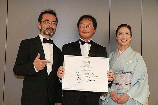 深田晃司監督、浅野忠信主演作「淵に立つ」がカンヌ「ある視点」部門審査員賞受賞