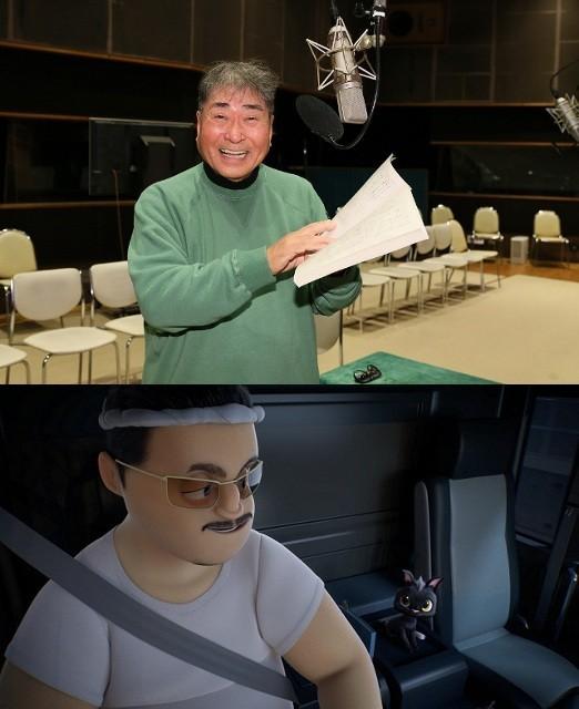 初代ルドルフ・毒蝮三太夫、映画版「ルドルフとイッパイアッテナ」に声優参加!
