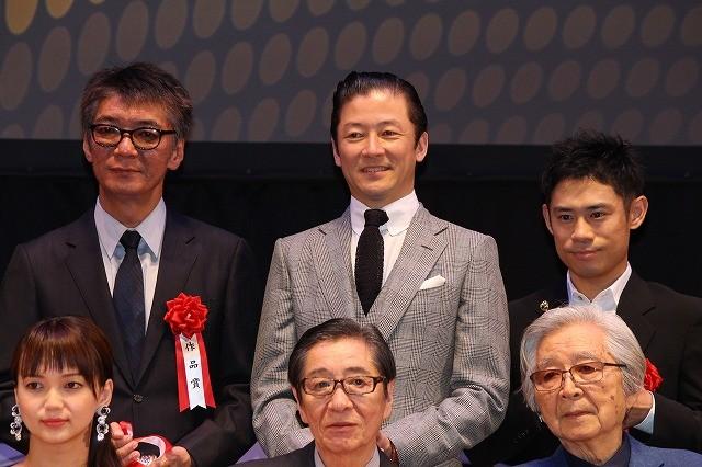 浅野忠信、主演男優賞に輝き「期待以上」 新人賞・山田涼介は「貢献できる役者に」と気合