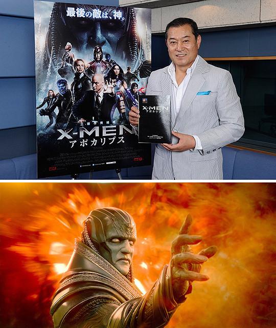 将軍から神へ――松平健が「X-MEN:アポカリプス」で洋画吹き替え初挑戦