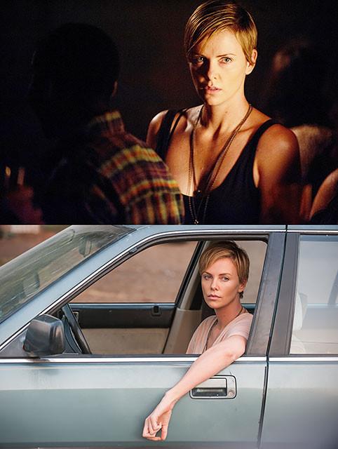 目の前で母が父を射殺した過去を持つC・セロン、「ダーク・プレイス」の一家惨殺事件の遺児役とシンクロ