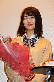 舞台挨拶に立った平嶋夏海「ハダカの美奈子」