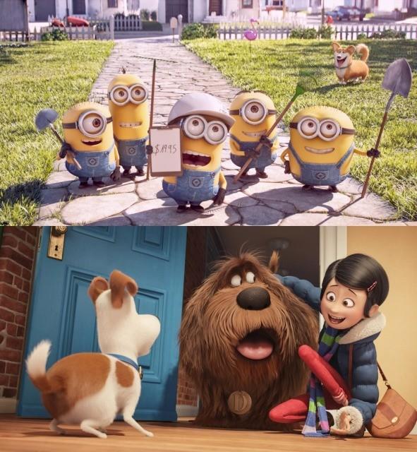 「ペット」の同時上映アニメは「ミニオンズ:アルバイト大作戦」!場面写真も公開
