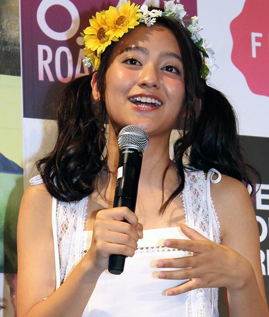 岡田結実、「夢は笑いのとれる女優」父親直伝の「出たっ」「わお」連発