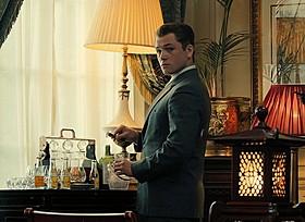 ハーディの愛人役を演じたタロン・エガートン「レジェンド 狂気の美学」