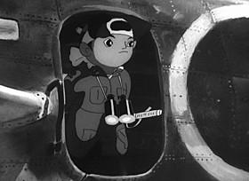 日本初の長編アニメがデジタル修復版でよみがえる「桃太郎 海の神兵」