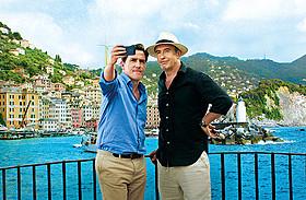 「イタリアは呼んでいる」劇中カット「スティーブとロブのグルメトリップ」